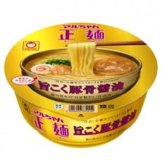 [세이멘] 마루짱 세이멘 컵라면 깊고 진한 돼지뼈 간장맛 107g