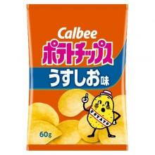Calbee 감자칩 우스시오 연한소금맛 60g