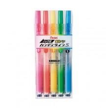 Pentel 핸디라인 뚜껑이 없는 형광펜