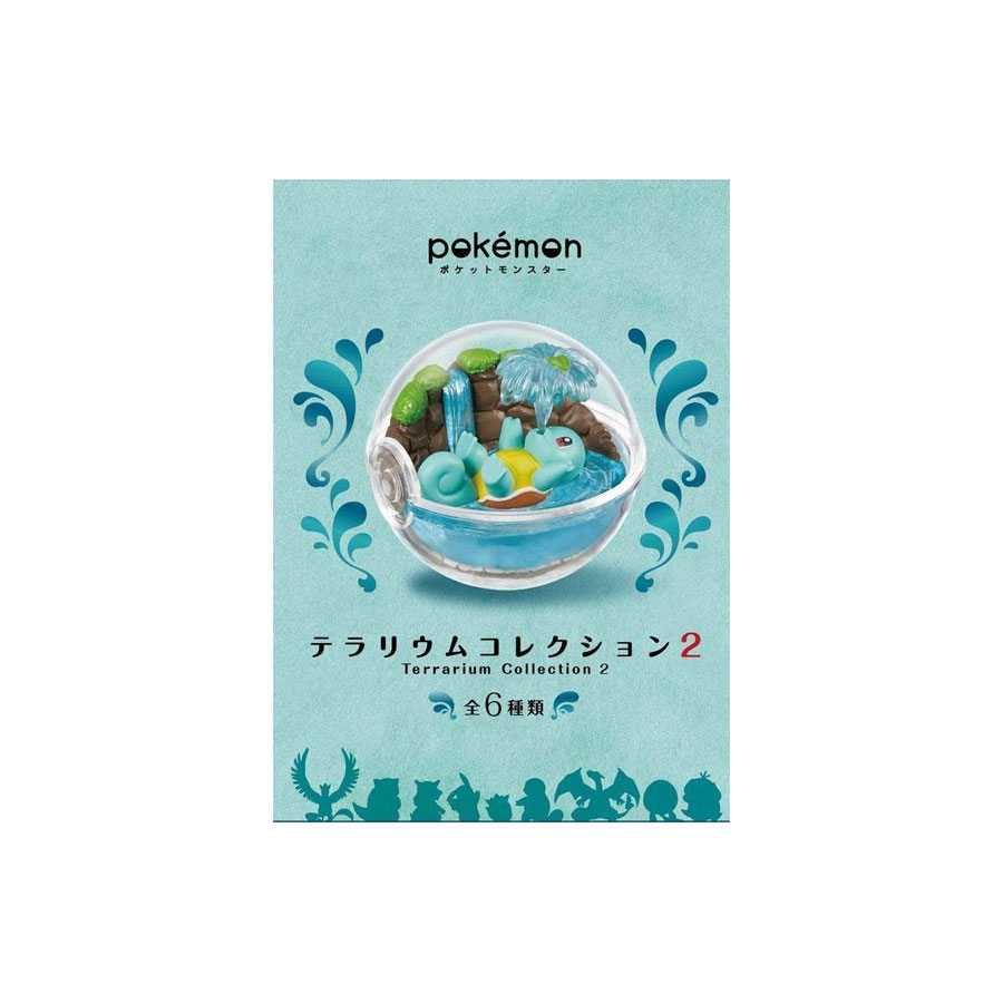[리멘트]포켓몬 테라리움 컬렉션2  6종 랜덤뽑기