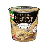포르 치니 향기 버섯 크림 스프 파스타컵
