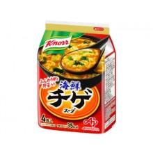 [크노르 스프] 해물 찌개 국물 스프 4개입