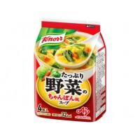 [크노르 스프] 듬뿍 야채 짬뽕 풍의 스프 4개입
