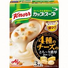 [크노르 컵스프] 4 종의 치즈 3봉입