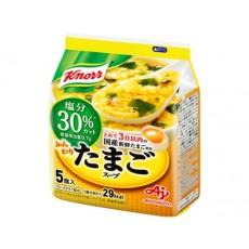 [크노르 스프] 부드러운 계란 스프 염분 30 % 인하 5개입