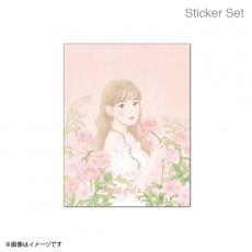 【예약 상품】 미야 와키 사쿠라 졸업 콘서트 ~ Bouquet ~ 스티커 Sticker Set