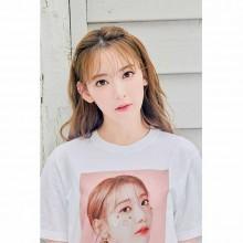 【예약 상품】 미야 와키 사쿠라 졸업 콘서트 굿즈 T 셔츠 화이트