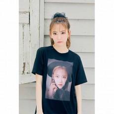【예약 상품】 미야 와키 사쿠라 졸업 콘서트 굿즈 T 셔츠 검정
